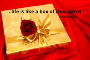 life was like a box of chocolates.